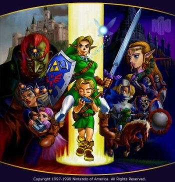 Legend of Zelda, The - Ocarina of Time Original Sound Track