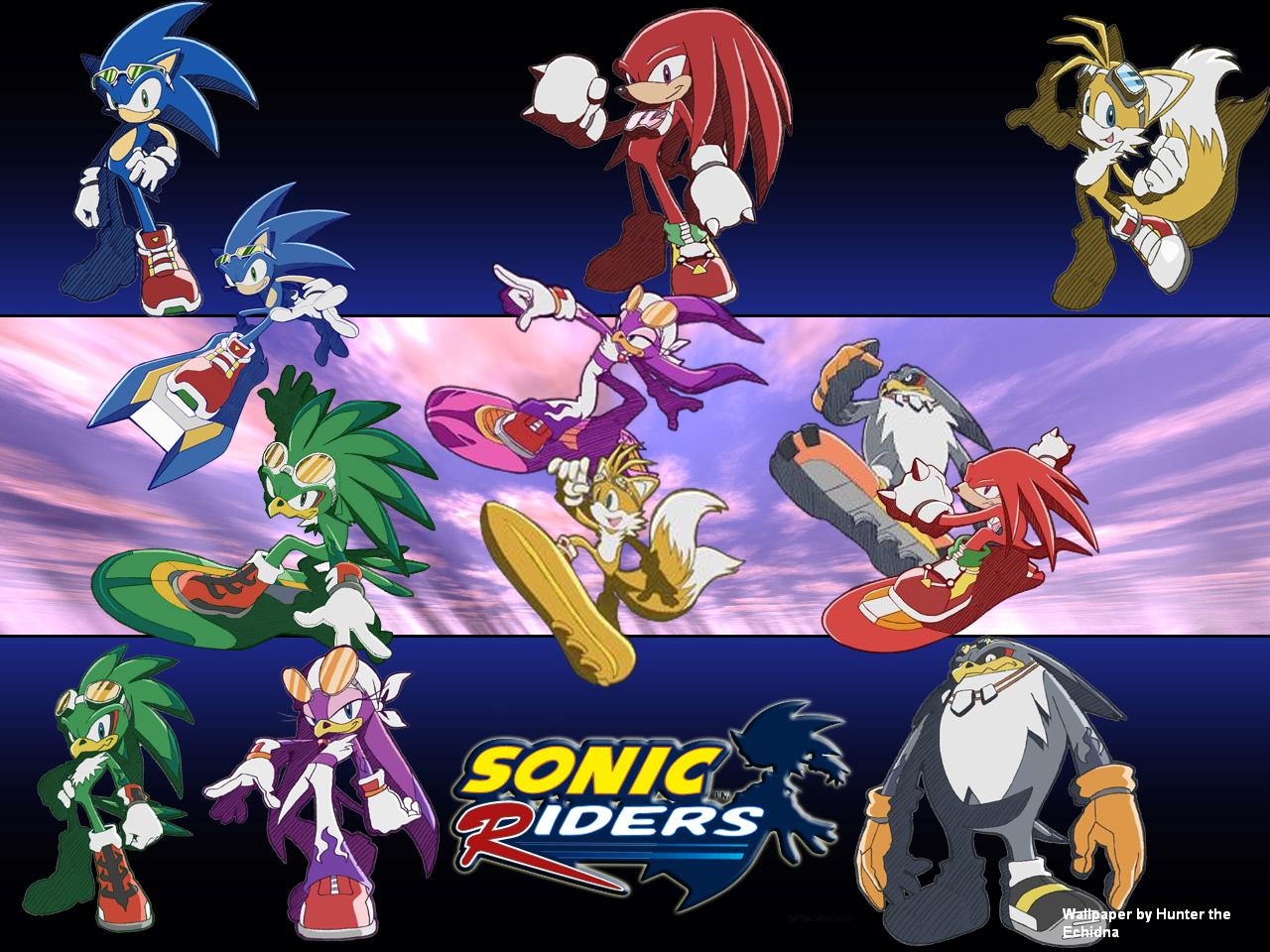 Sonic Free Riders: Sonic Free Riders Images Sonic And Jet HD